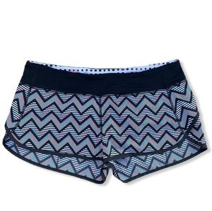 Exclusive lululemon Limited Edition 3D Chevron Print 2014 Seawheeze Speed Shorts